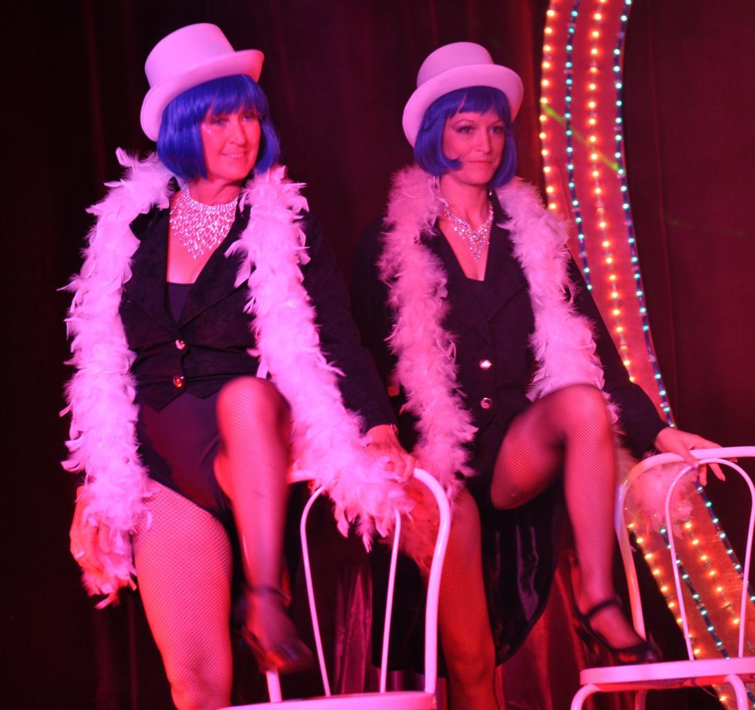 Jocelyne et Vanessa dans