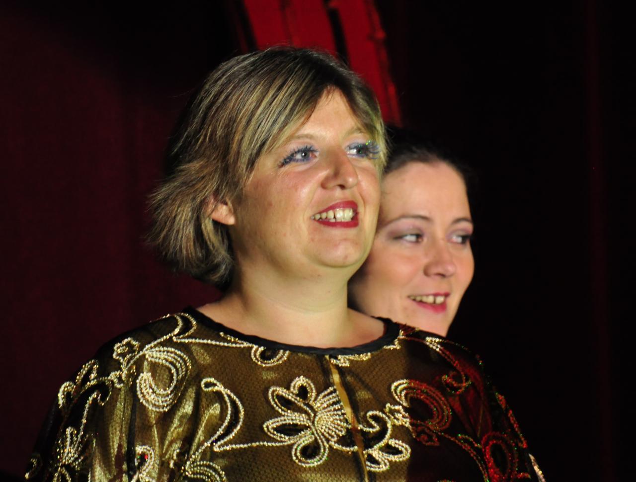 Gwénaël et Alexandra dans