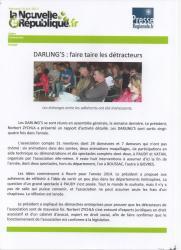 Article de La Nouvelle République du Centre Ouest du Mercredi 19 juin 2013