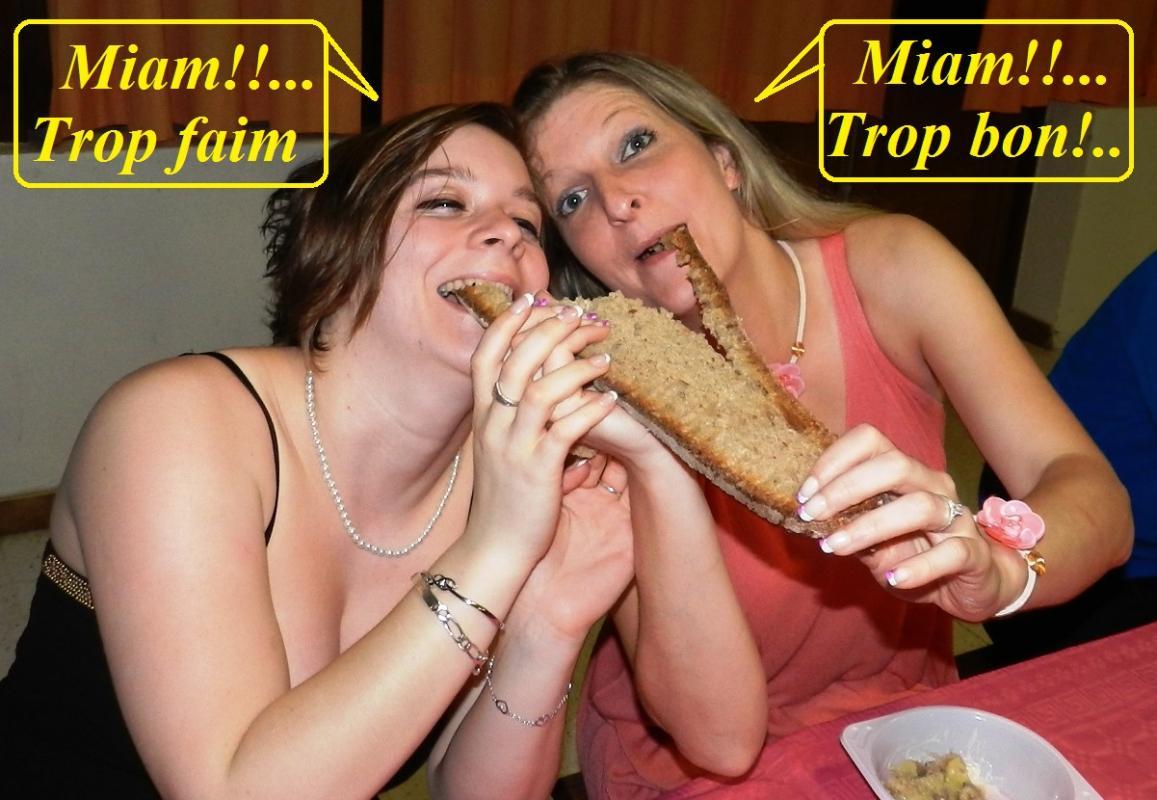 Hello les filles!... La gourmandise est un vilain défaut....