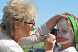 Maquillage des enfants à POISIEUX - Dimanche 17 Mai 2015