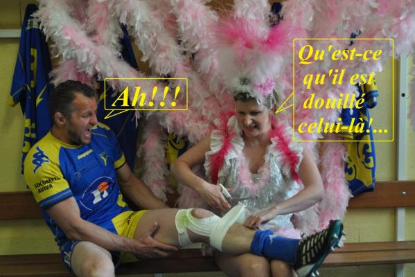 Le rugby ça peut être dangereux.....