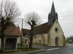 L'église du village de PAUDY