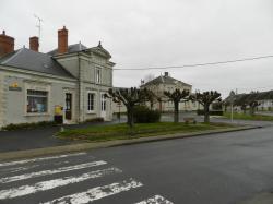 La Poste et la Mairie de PAUDY